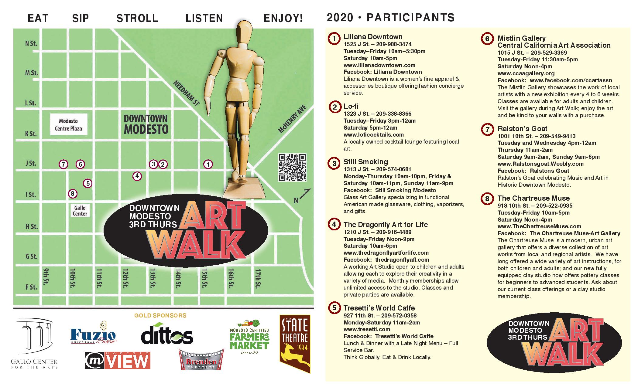 Art Walk brochure 2020